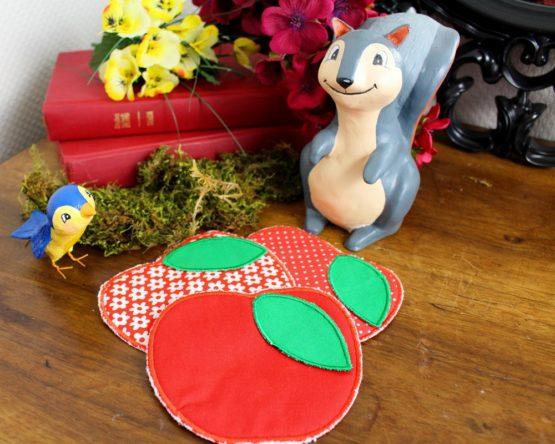lingettes pommes Blanche-Neige
