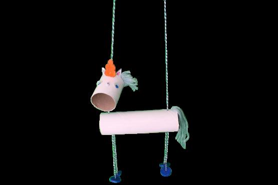 Atelier marionnette licorne