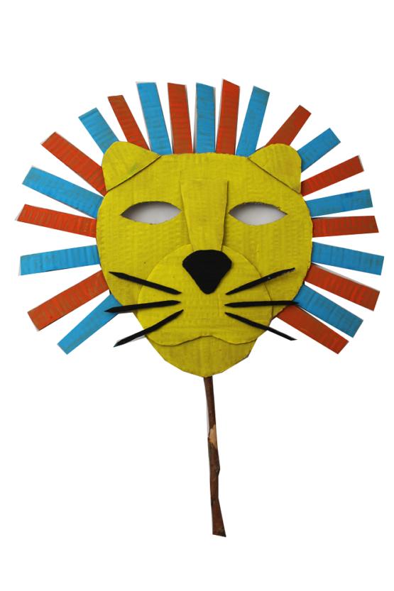 Atelier masque de lion